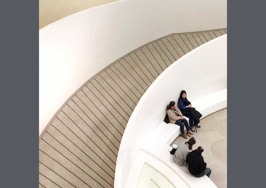 Couples in the Guggenheim